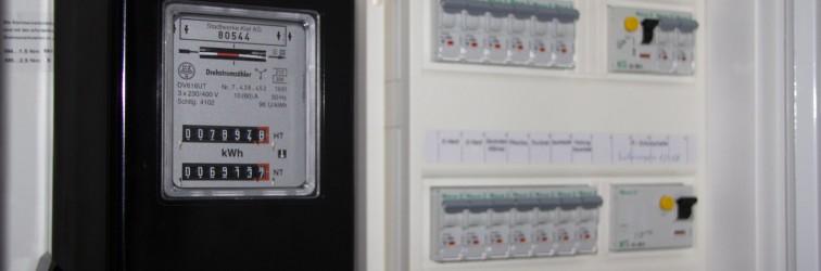 Stromverbrauch in der Bauphase